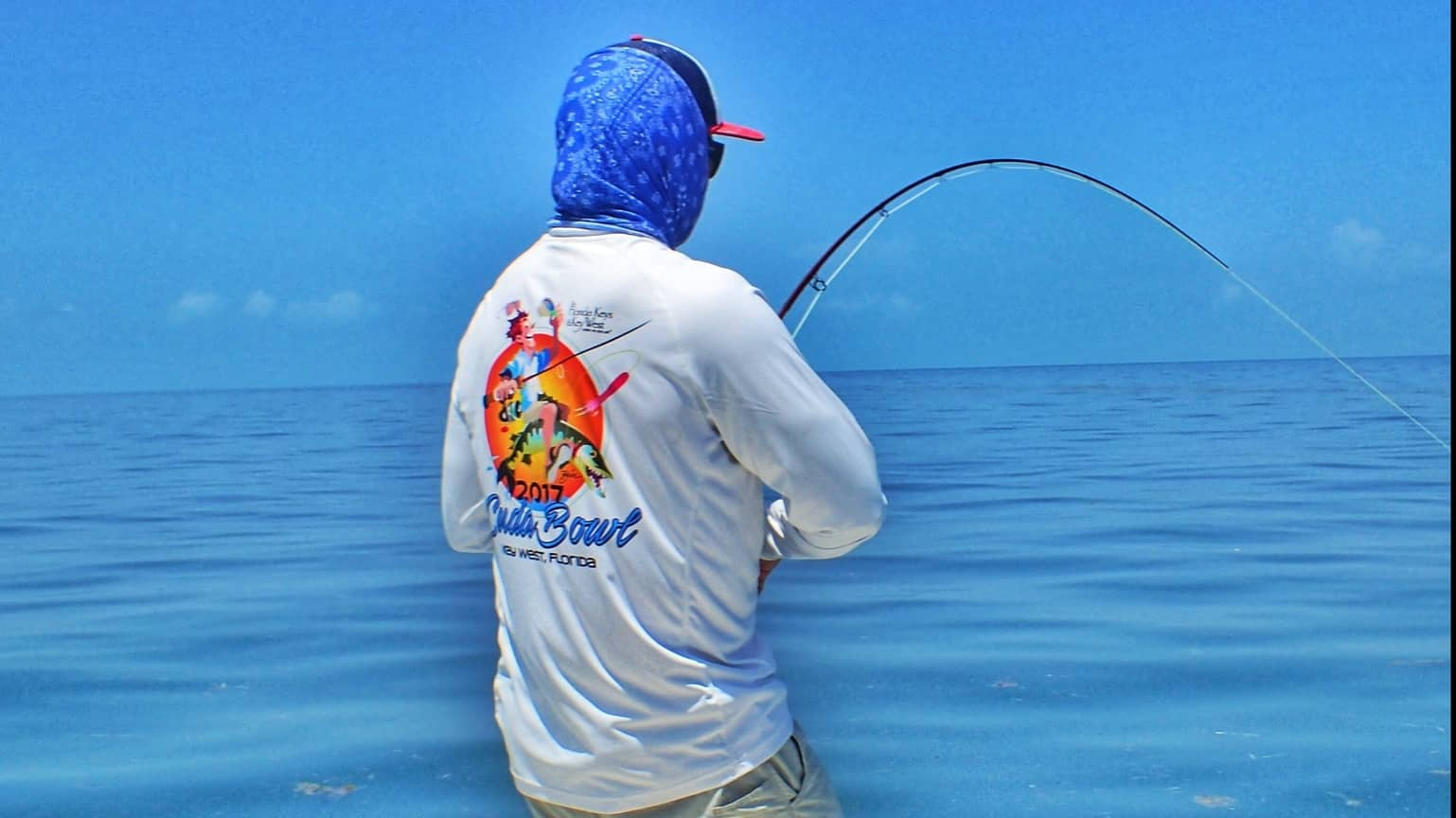 fly fishing in Key West for baby tarpon