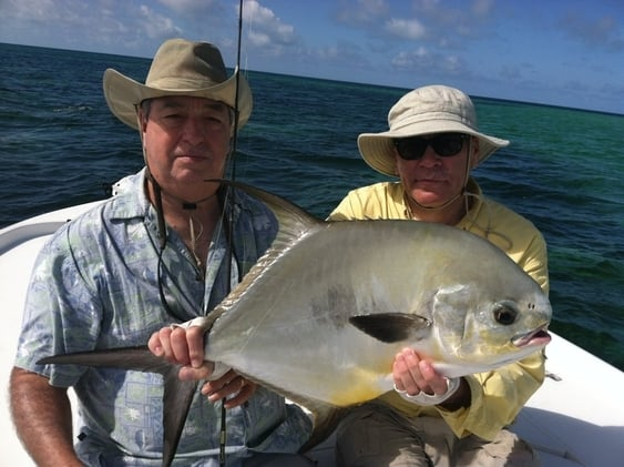 fly fishing for permit on the flats