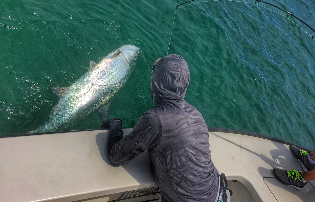 fly fishing for tarpon in June near Key West