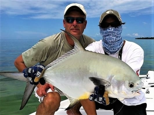 fly fishing for permit in the Florida Keys